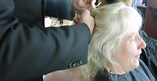 После просмотра этого видео, вы тоже захотите так красиво выглядеть! Как стрижка и макияж могут изменить человека до неузнаваемости