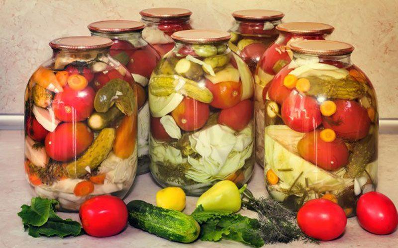 Маринованные овощи на зиму. Готовим уже сейчас