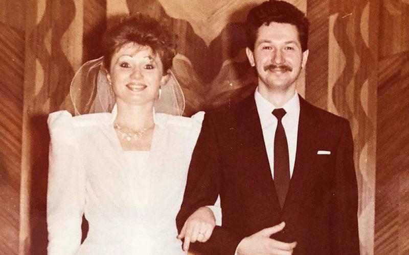 Пышное платье, длинная фата и яркий макияж — свадьба 80-х. Какой стала свадебная мода теперь?