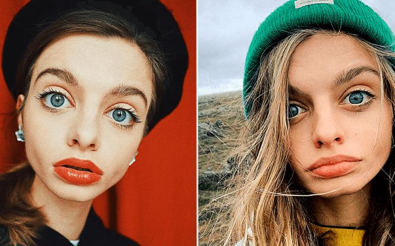 Украинская модель покоряет сердца пользователей сети своими невероятными глазами
