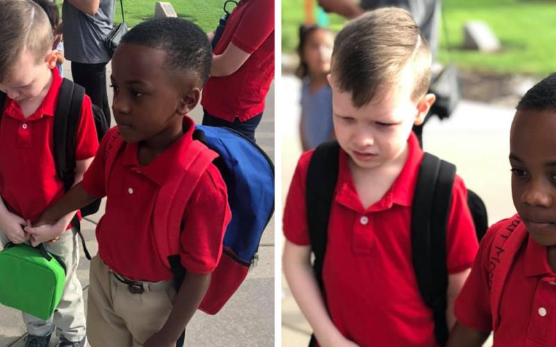 Родители отправили ребёнка с аутизмом одного в школу в первый же день. Кто ему пришел на помощь и что сказала мать в своё оправдание?