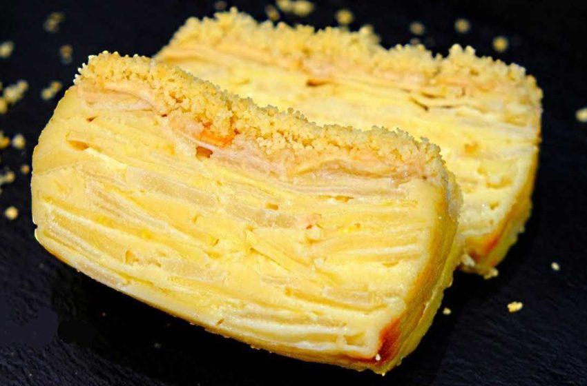 Французский пирог «Невидимка»: тесто превращается в крем