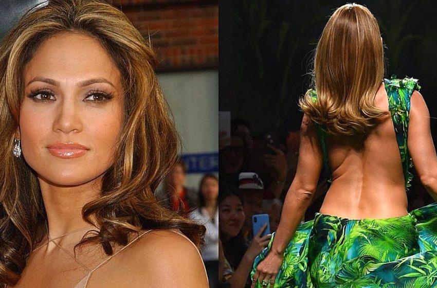 Спустя 19 лет: 50-летняя Дженнифер Лопес повторила свой известный образ. Посмотрите, как она выглядит