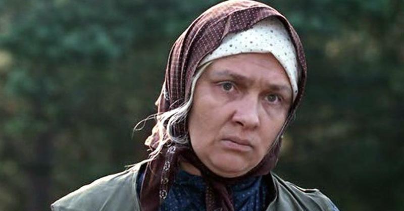 Наталья Тенякова в молодые годы сыграла роль бабы Шуры в фильме «Любовь и голуби»