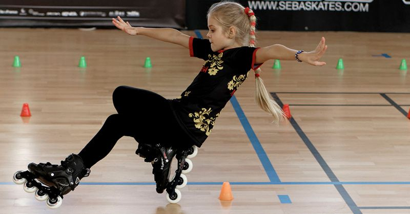 В 11 лет девушка из Москвы выиграла золотую медаль, катаясь на роликах