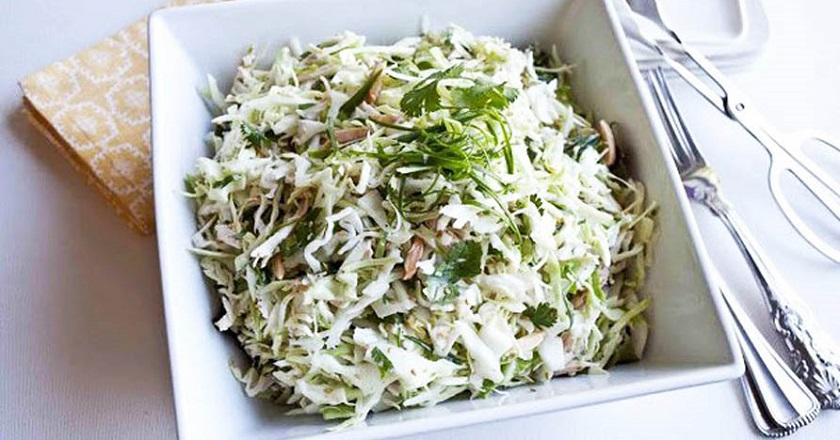 Ешьте и худейте: диетический салат из пекинской капусты