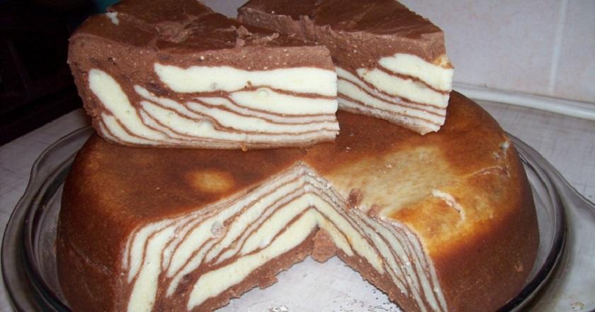 Вкусный творожный тортик для всей семьи